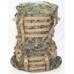 ILBE Backpack - Front View of PALS Webbing
