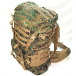ILBE Backpack - Top Side View