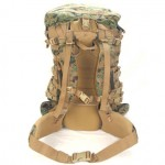 ILBE Backpack - View of Back and Straps