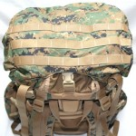 ILBE Backpack - Top PALS Webbing and Top Straps