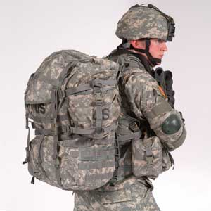 The MOLLE Military Backpack