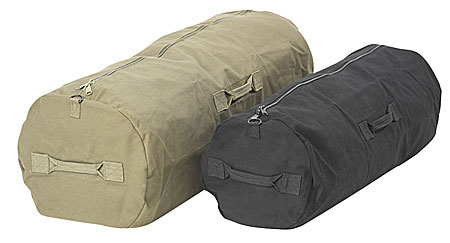 Canvas Duffle Bags Are Great for Civilian Use Too