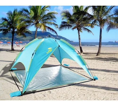 A Day at the Beach With Your Own Beach Tent