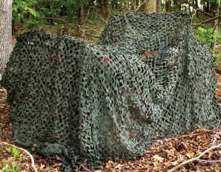 Camouflage Netting and the Art of Concealment